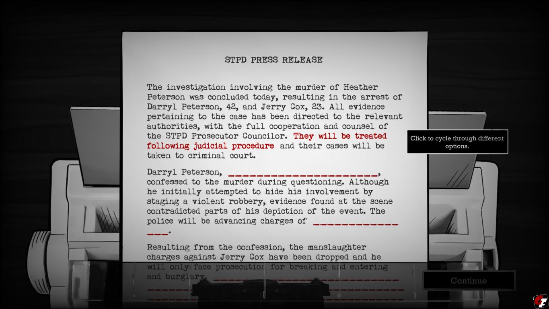 Interrogation Screenshot 8