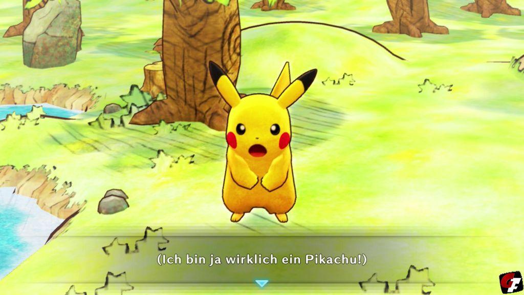 Pokémon Mystery Dungeon: Retterteam DX Test