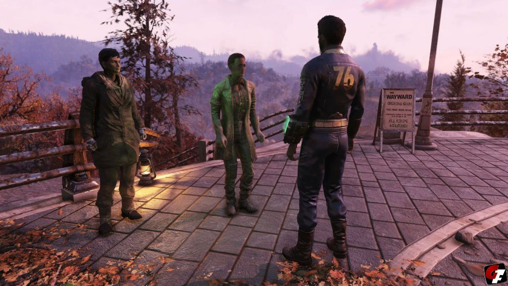 Fallout 76: Wastelanders Test