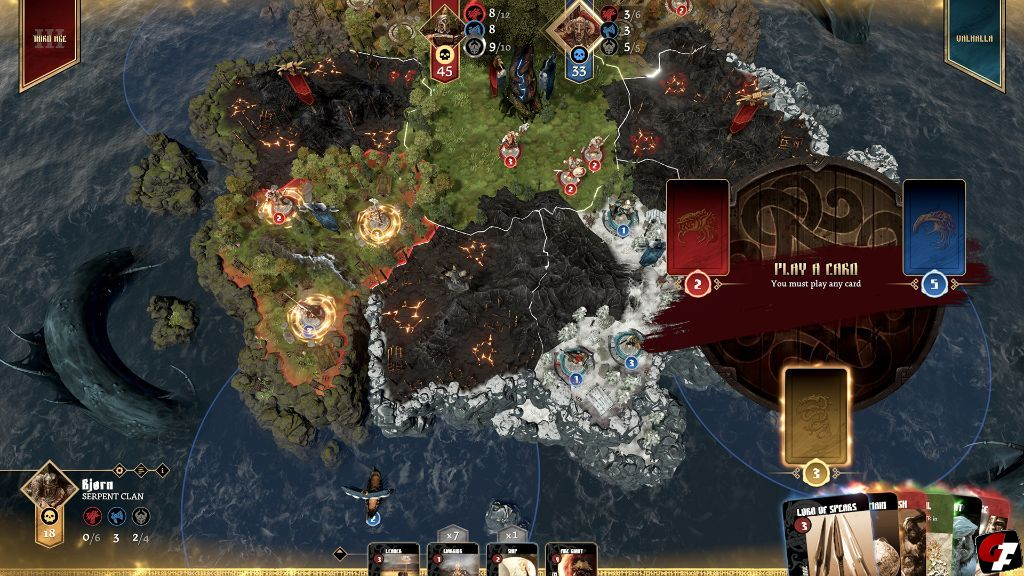 Blood Rage: Digital Edition Test